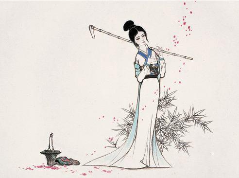 读一首诗李商隐《残花》,残花和宝钗,两种悲伤,作何选择?