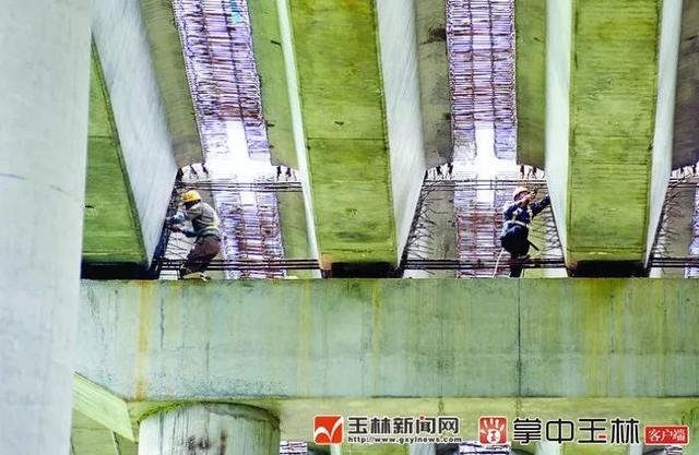 玉湛高速项目(广西段)新进展!这座桥梁的建造,难度超乎你想象