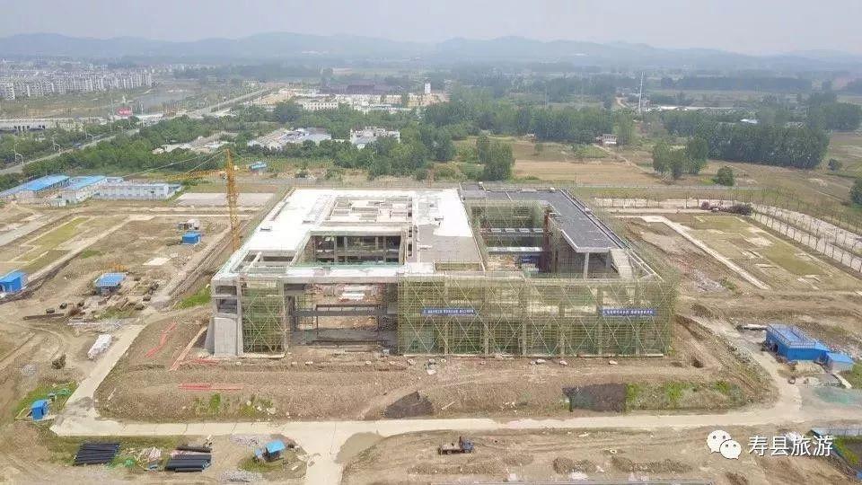淮南这座多功能博物馆主体工程完工啦!