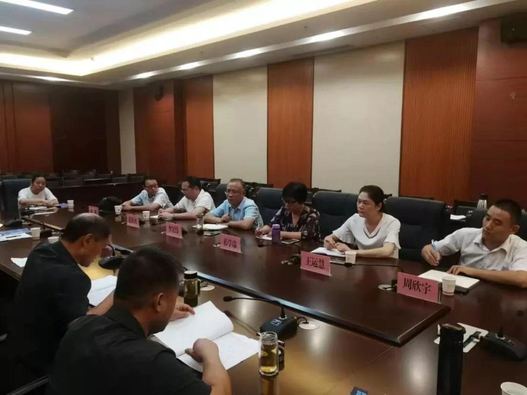 【调研】河南省社科院法学研究所李宏伟一行到焦作法院调研指导工作