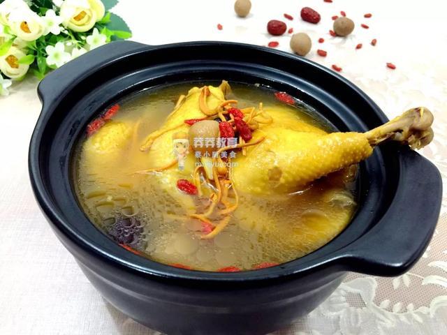 催乳食谱——虫草花西洋参补虚汤