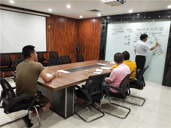原创除甲醛加盟商来纳加环保总部培训学习