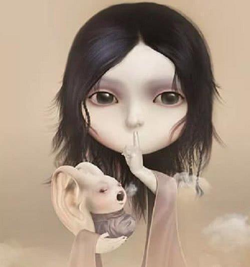 心理测试:四个娃娃,哪个最诡异,测你内心有什么潜在的心理问题