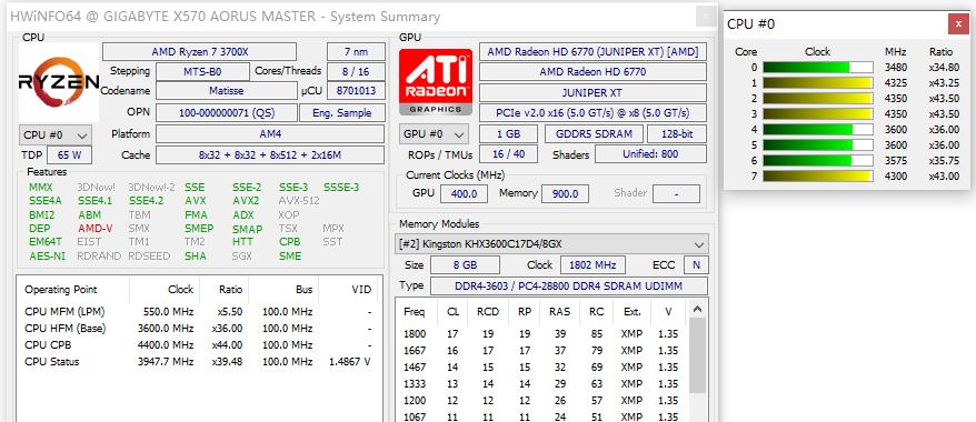 AMD锐龙超频之南辕北辙:高性能模式的性能并不高_Ryzen