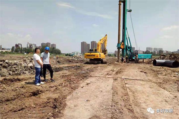 滁州又一安置房项目开工建设,具体位置在......