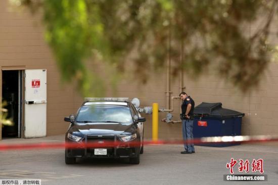 <b>美国得克萨斯州警方确认埃尔帕索枪击案嫌犯身份</b>