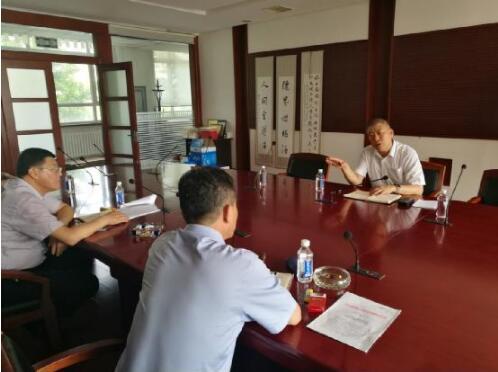 大连市退役军人事务局领导莅临金普新区调研