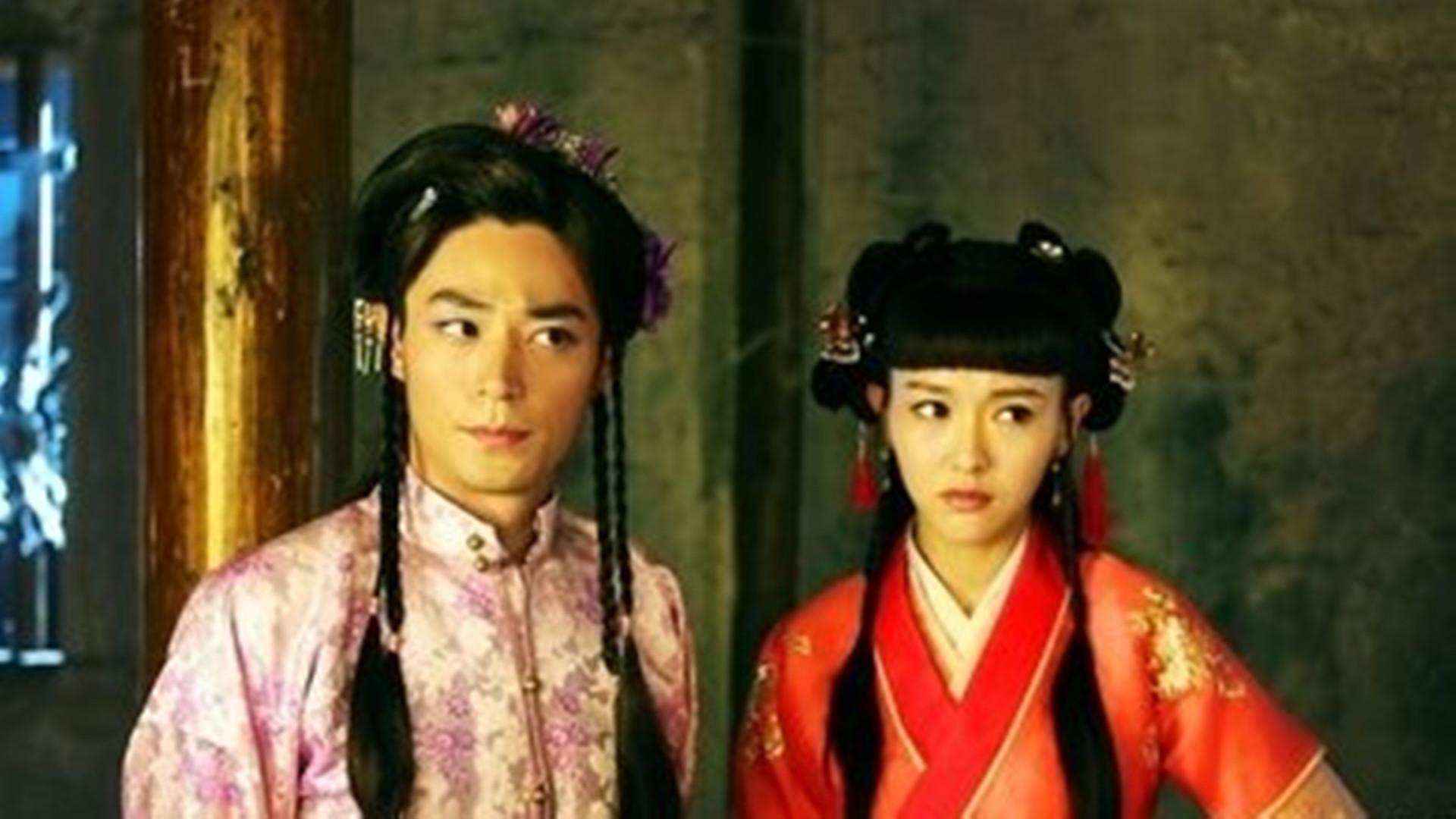 剧中男演员的女装造型,马天宇演绎绝世美女,最后一位辣眼睛
