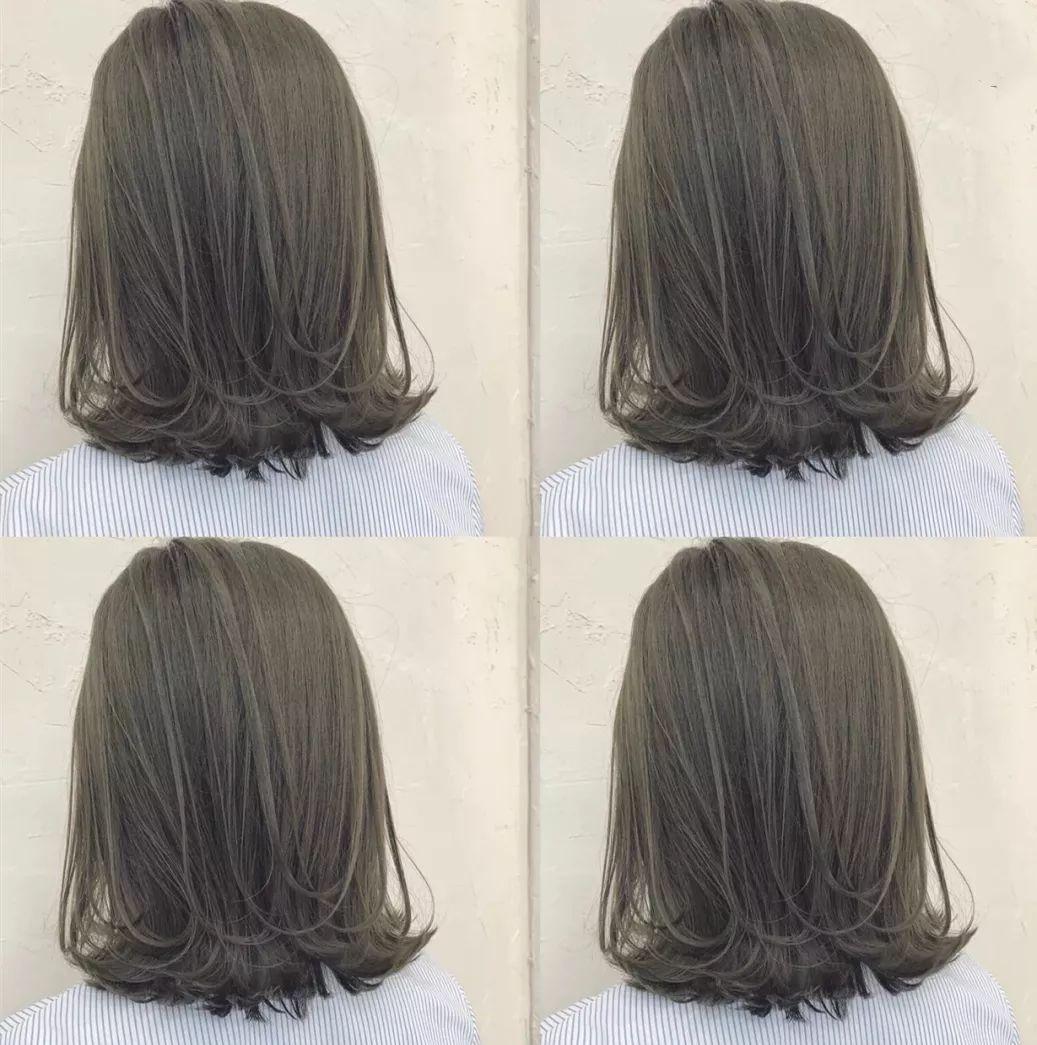 青木亚麻灰发色男生