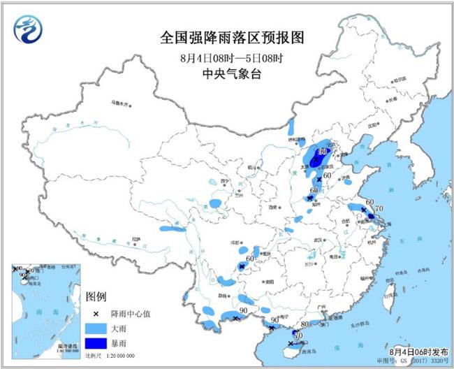 华北四川盆地等地有较强降水_地区