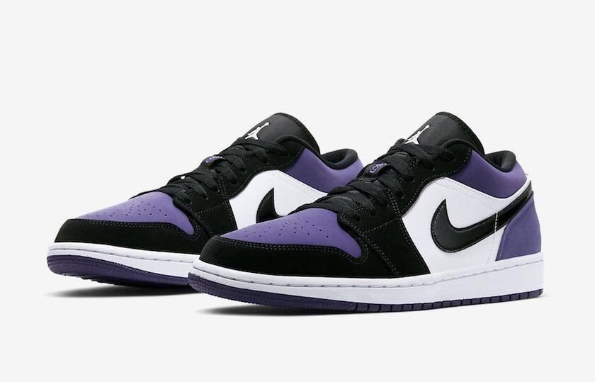 质感极佳!这款黑紫 Air Jordan 1 Low 你喜欢吗?