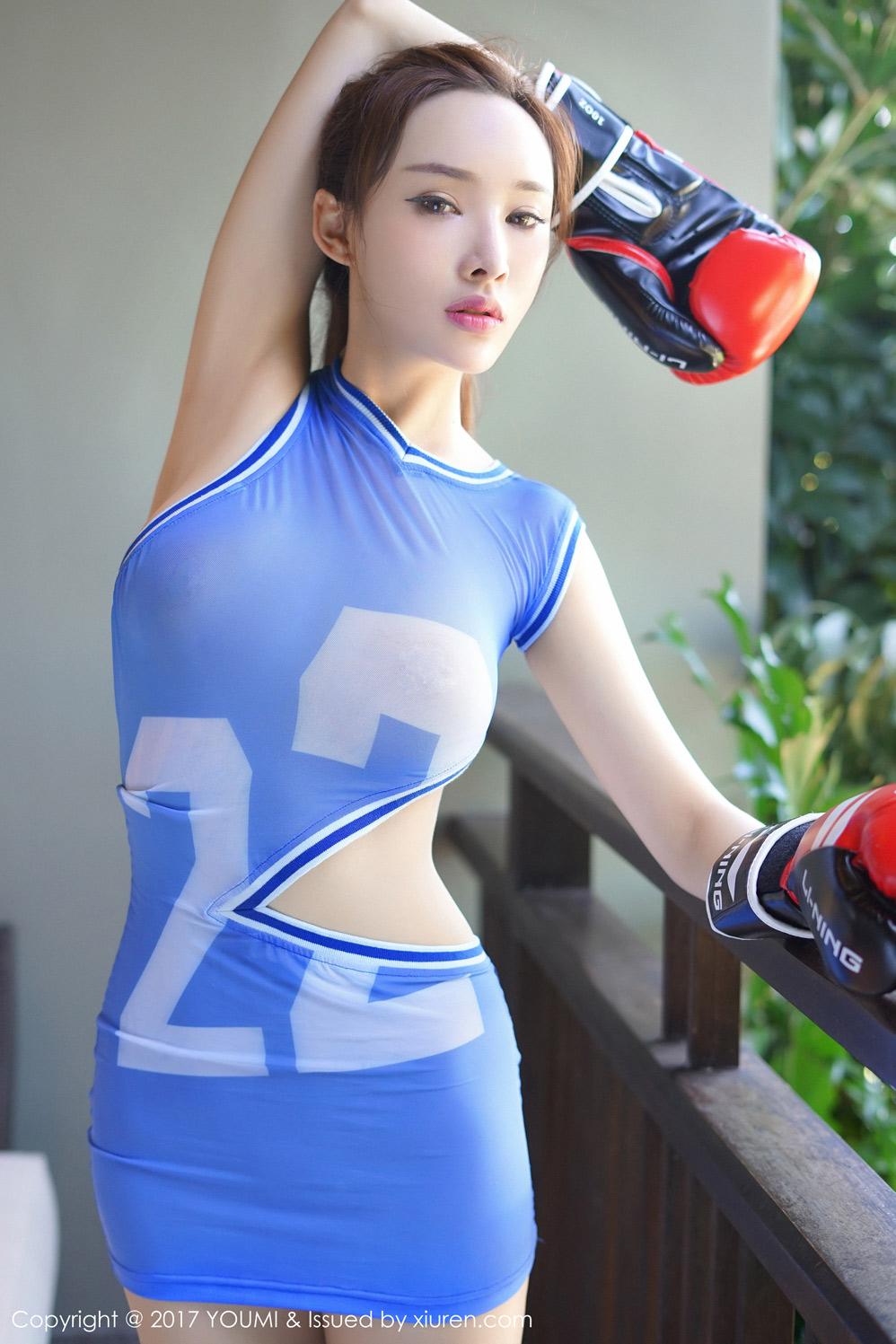 拳击少女土肥圆矮矬穷身姿傲