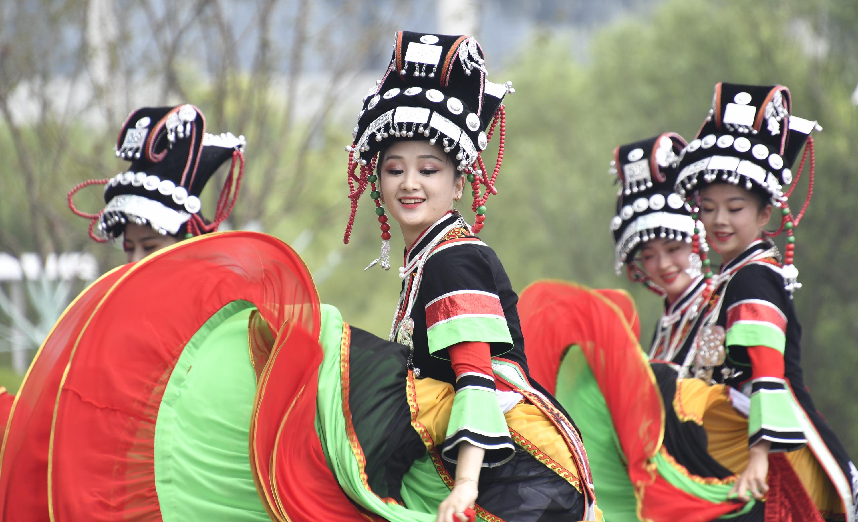 """北京世园会迎来""""贵州日"""""""
