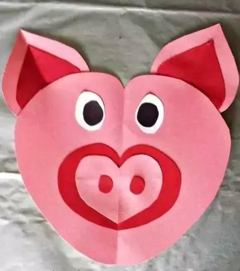 有关猪的儿童手工制作