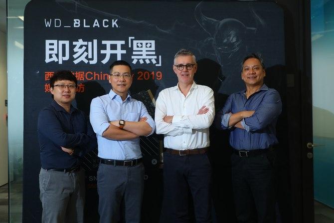 即刻开黑 西部数据旗下游戏专属品牌WD_BLACK现身CHINAJOY