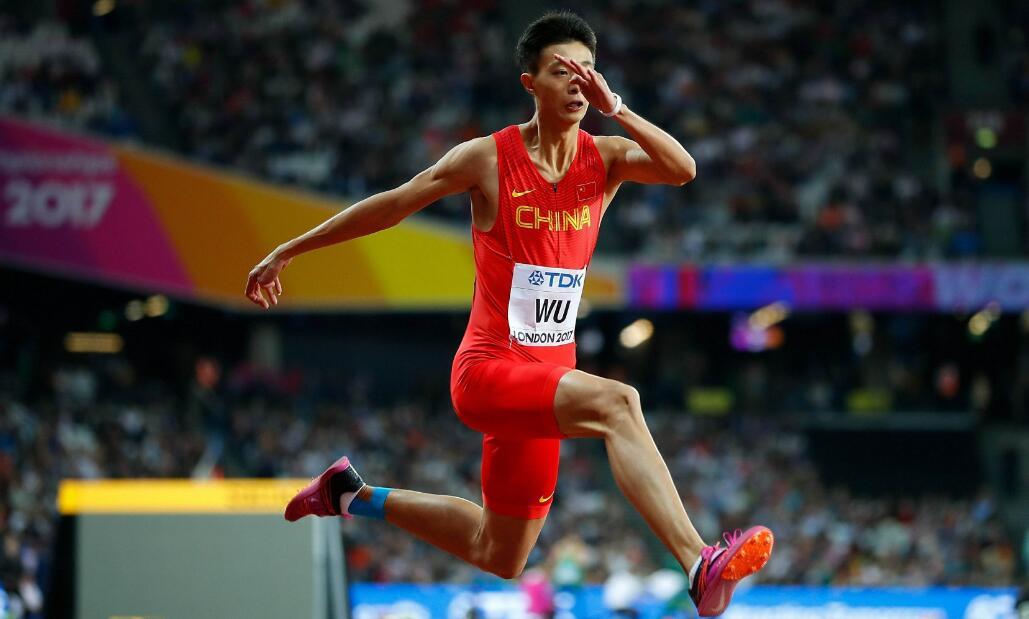 吴瑞庭三级跳17米47夺冠 张国伟复出战2米20夺铜