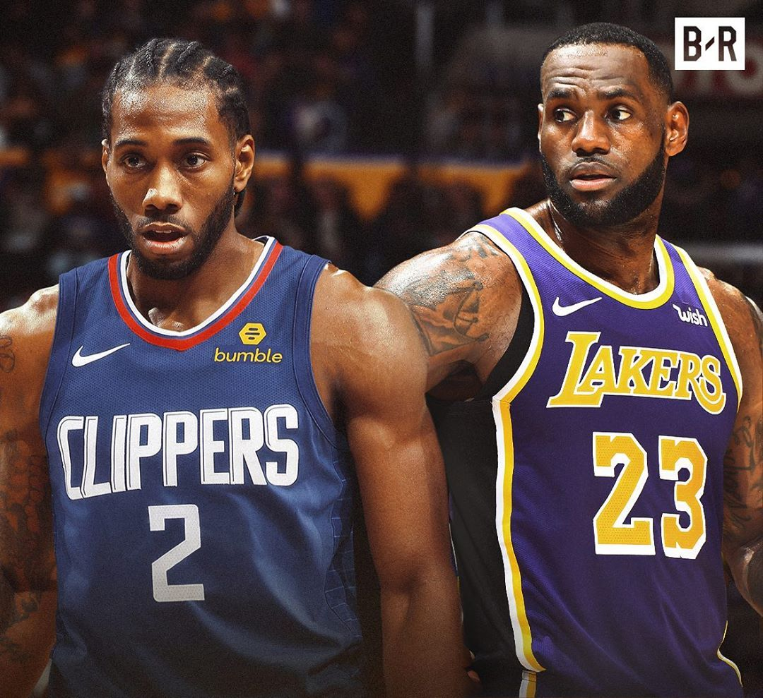 "<b>NBA新赛季揭幕战公布,老詹小卡约战""洛杉矶德比""</b>"