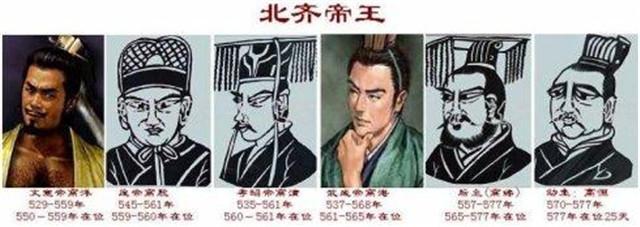北齐的两个可怜皇后,一个被数位皇帝惦记,一个无人问津沦落为娼