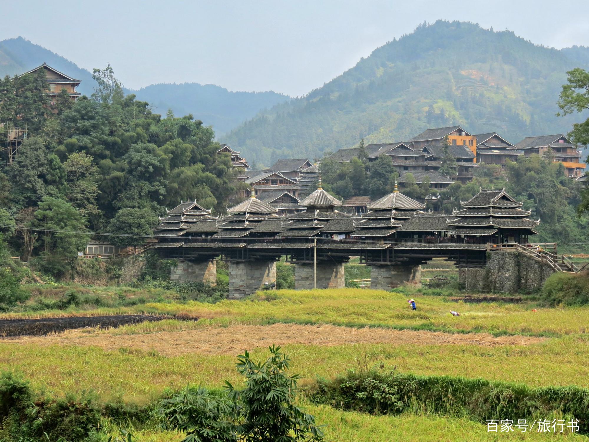广西最牛的一座桥:不耗一根铁钉,竟稳固了百年