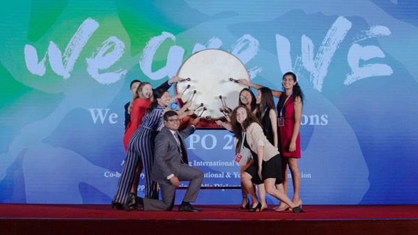 第十二届全球青年模拟联合国大会开幕,逾1000名国内外青年聚北京参加活动