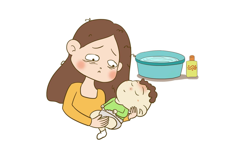 夏季如何给宝宝洗澡?这些情况再热也不能洗,多数家长都做错了
