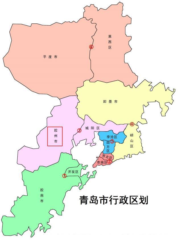 青岛各县市区经济总量_青岛各县市地图