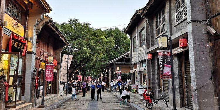 韩城古城,距今1300余年,保护较好的明清古城之一