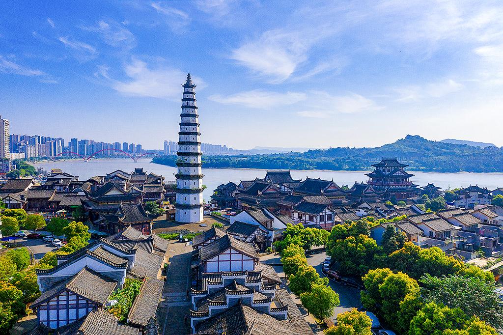 中国文峰塔数以百计,层数最多的在重庆,512四川地震都没震倒