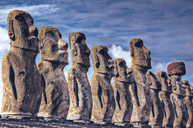 复活岛上的石像,究竟是谁造的?