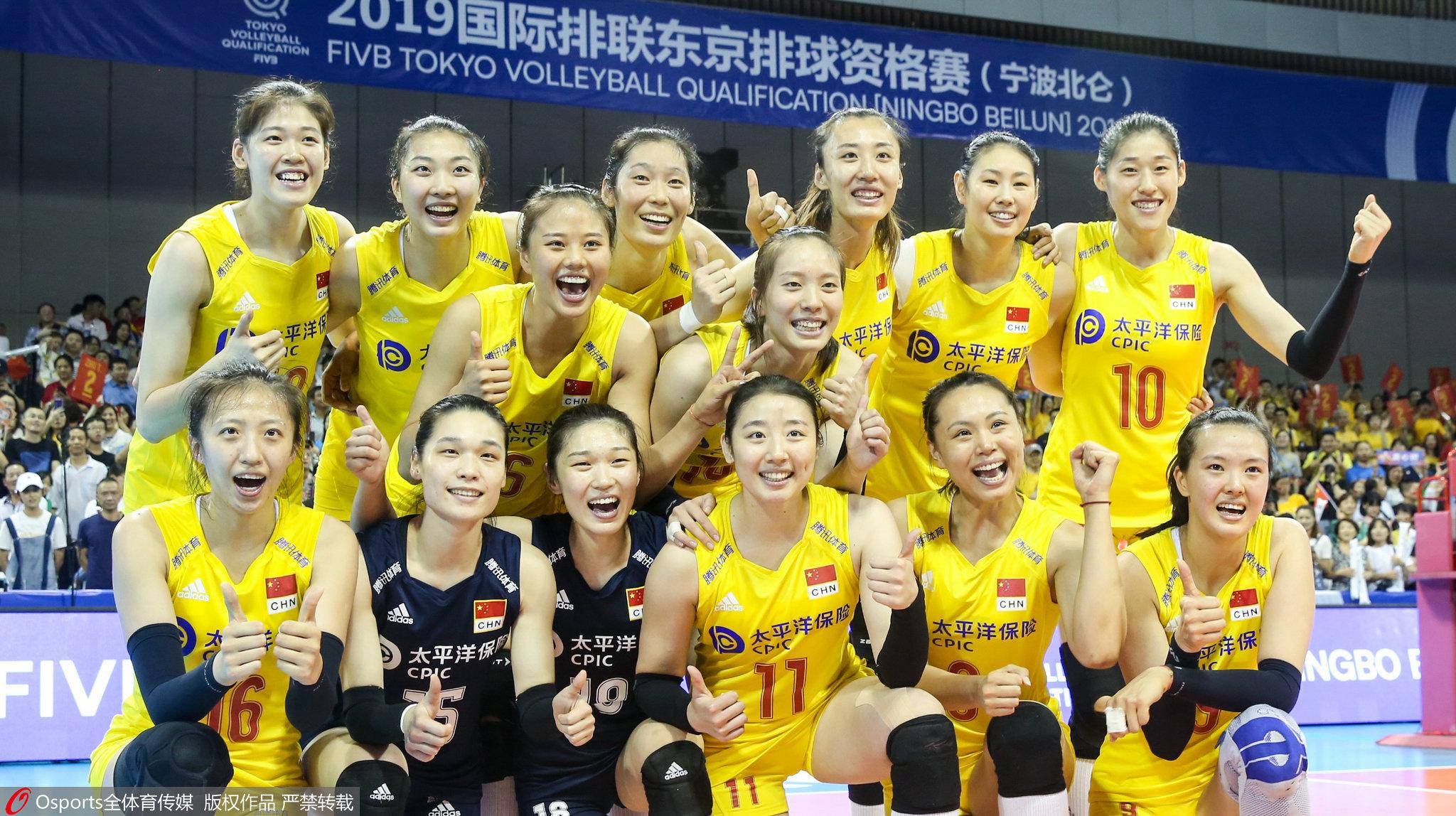 体育晨报:中国女排进军奥运,易建联复出找状态