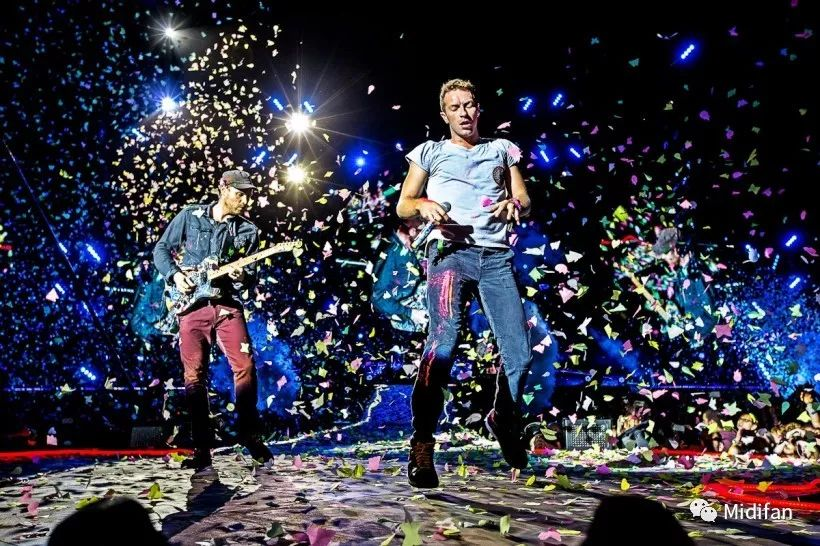 Coldplay 乐队带你走进 MOTU 现场大案例