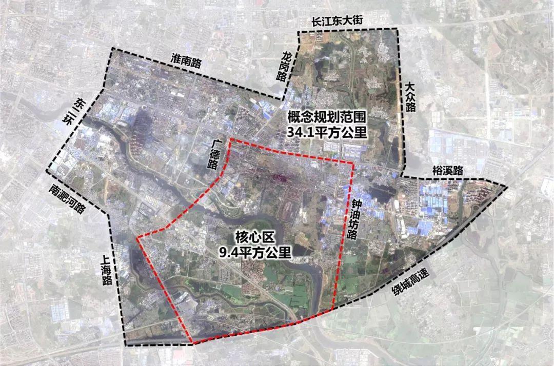 包河区总体规划图