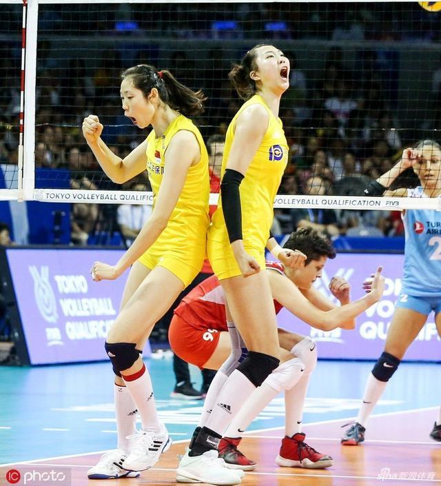 给力!东京奥运女排资格赛中国女排三战全胜 头名拿到奥运入场券