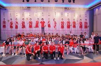 中国女排粉丝见面会在北仑举行 姑娘们人气爆棚