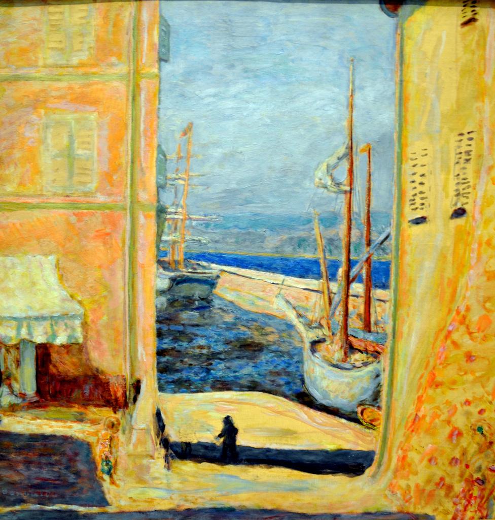 看懂了博纳尔风景画的那种光影,就看懂了艺术史