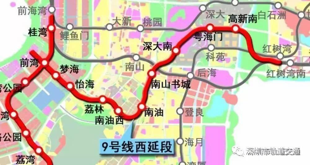 深圳5条地铁预计今明两年开通!