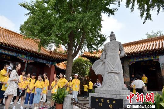 """两岸台胞中小学生""""放飞梦想""""夏令营在徐州举办"""