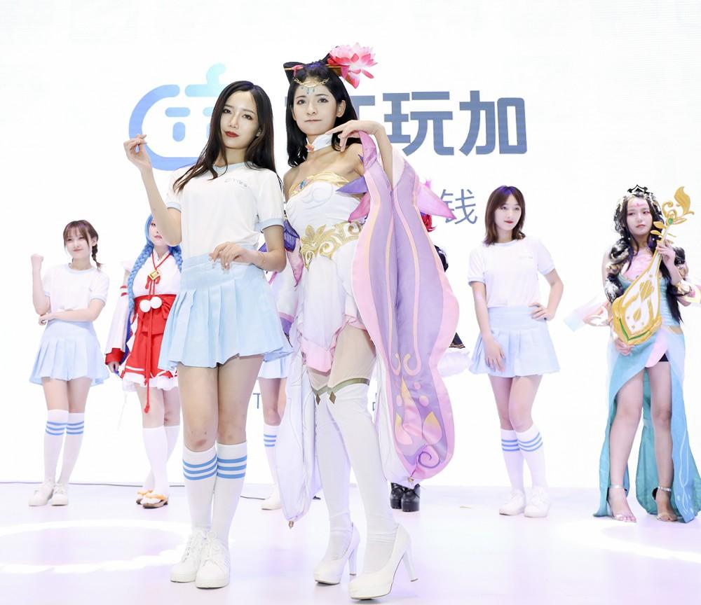 2019年ChinaJoy TT玩加幕后真诚呈可见