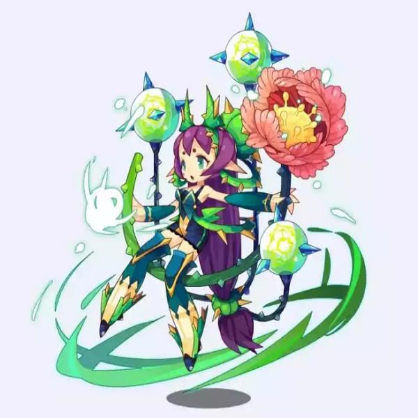 洛克王国美女精灵图片