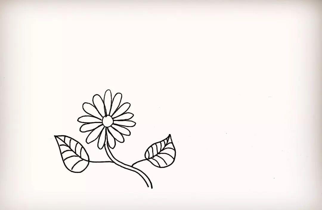 简笔画 勤劳的小蜜蜂