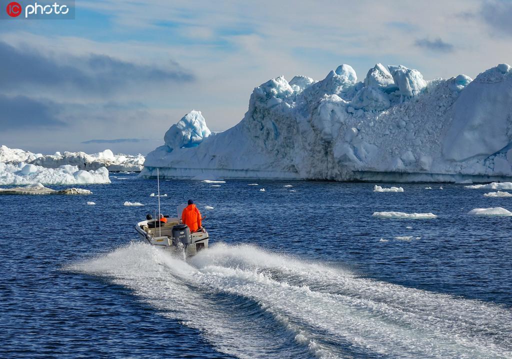 格陵兰冰川一天融化120亿吨 创历史纪录