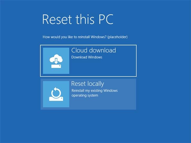 3年前就有想法,微软Windows10云下载重装功能爆料