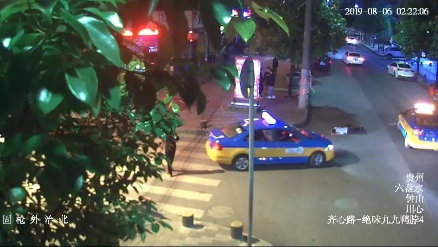 贵州出租车深夜遭遇诡异一幕:车轮下突然多个人