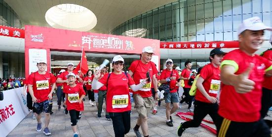 迎亞運·奔跑吧杭州2019城市定向挑戰賽火熱開賽