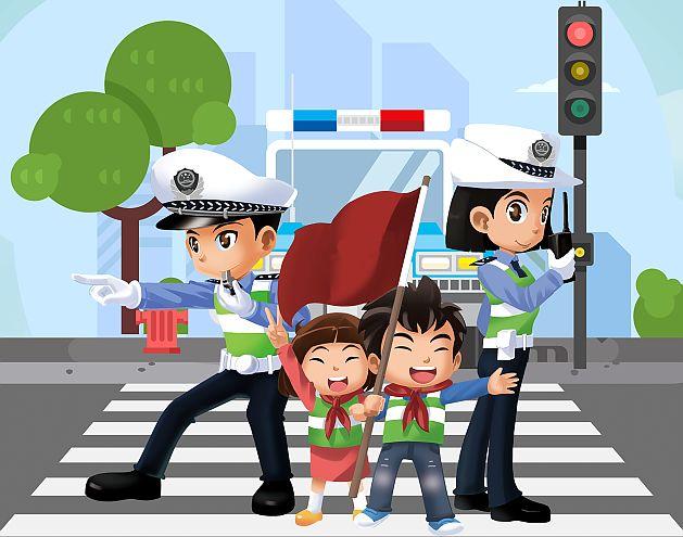 8月9日|暑期儿童交通安全体验活动