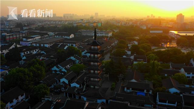 视频|航拍上海|嘉定篇:110多个镜头,每一刻,都美