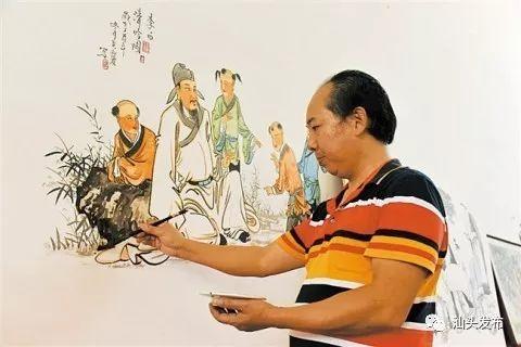 【这就是和美汕头】非遗之美│胪溪壁画绘就墙上五彩艺术(图5)