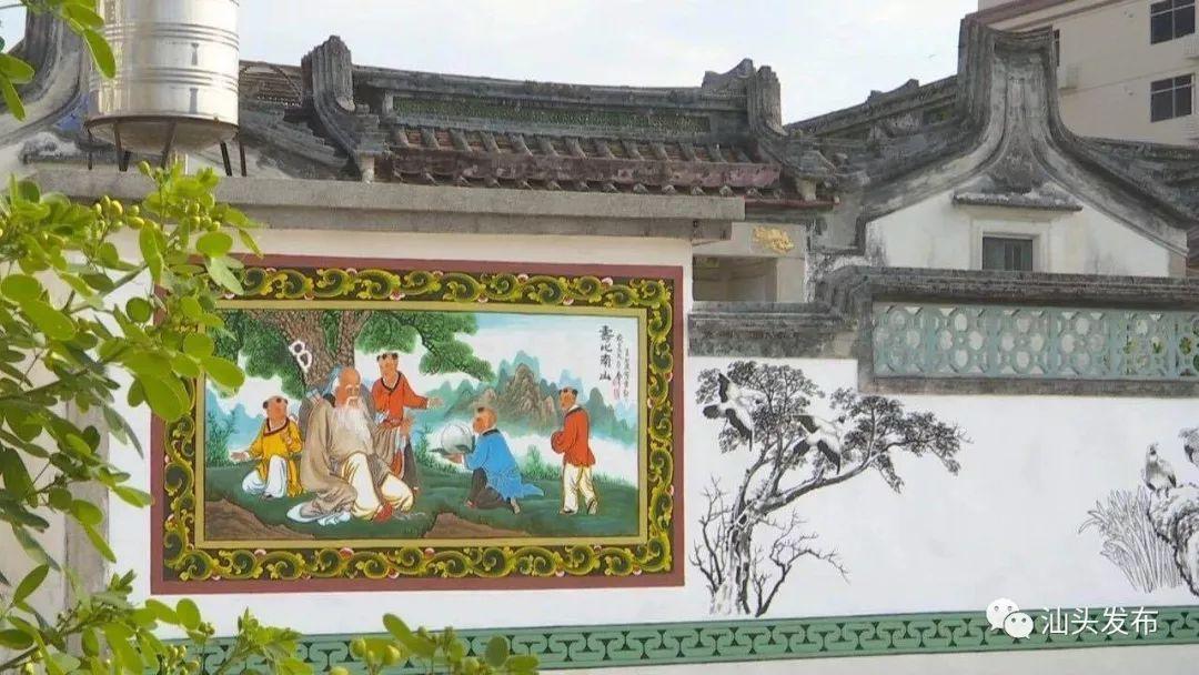 【这就是和美汕头】非遗之美│胪溪壁画绘就墙上五彩艺术(图1)