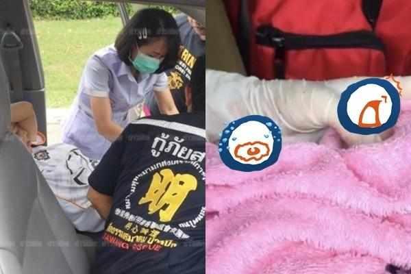 泰国女车上生产!女婴24只指头吓坏医护人员 外婆一看当场晕倒