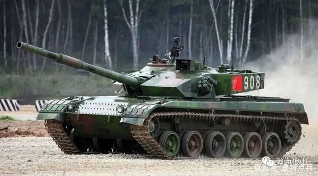 当年96A一箭穿心,让坦克国际大赛再也不敢比穿甲弹!